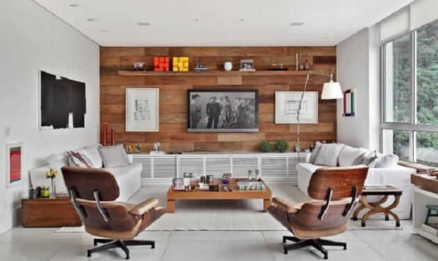 Decora o de sala de estar fotos e excelentes dicas for Modelos de decorar salas
