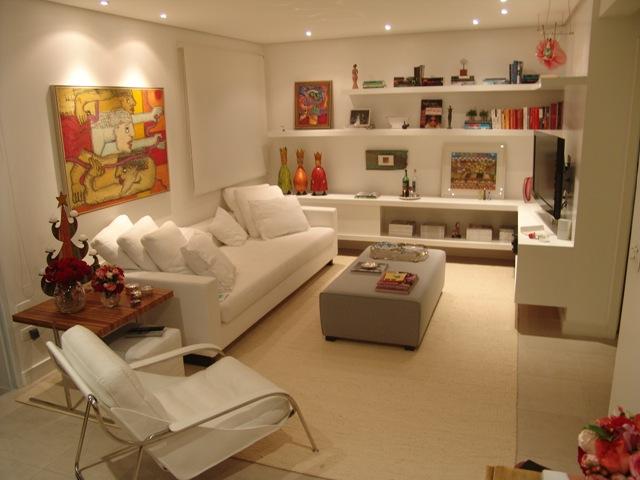Decora o de sala de estar fotos e excelentes dicas for Modelos de sala de casa