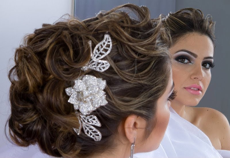 Penteados Para Noivas Veja Fotos Modelos E Passo A