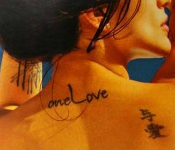 Tatuagens de Cléo Pires nas Costas