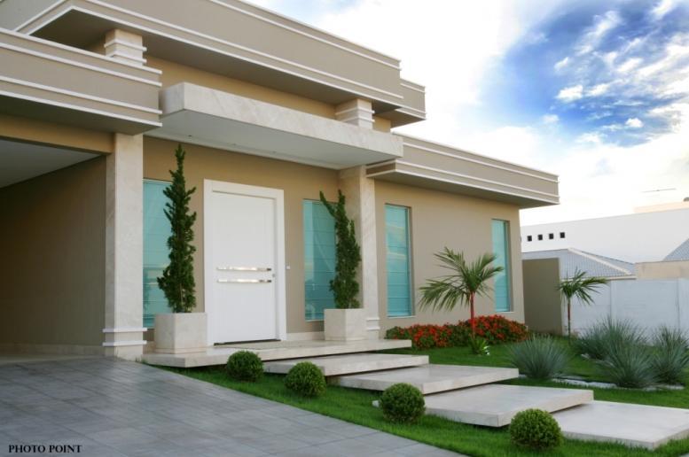 Fotos de fachadas de casas deixe a frente de casa linda for Fachadas bonitas y modernas