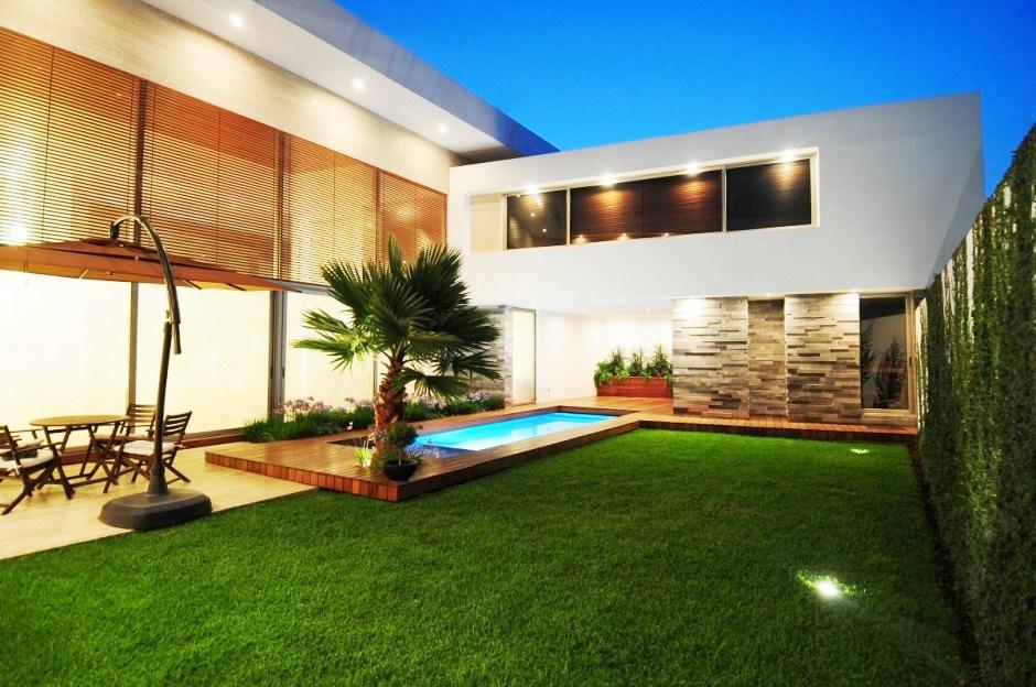 Fotos de fachadas de casas deixe a frente de casa linda - Casas exteriores ...