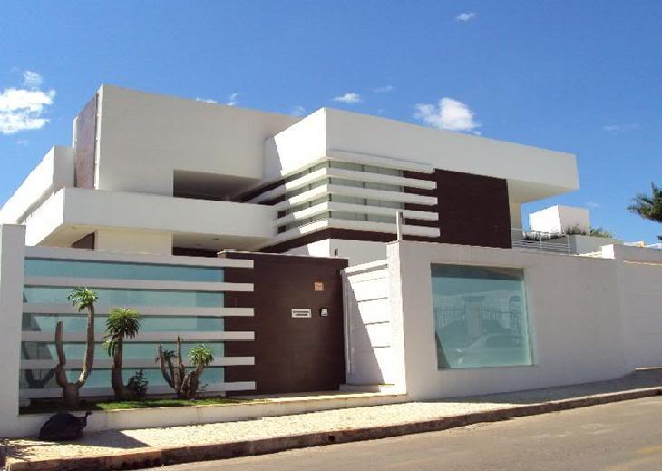 Fachadas de Casas Residenciais - Fotos e Modelos