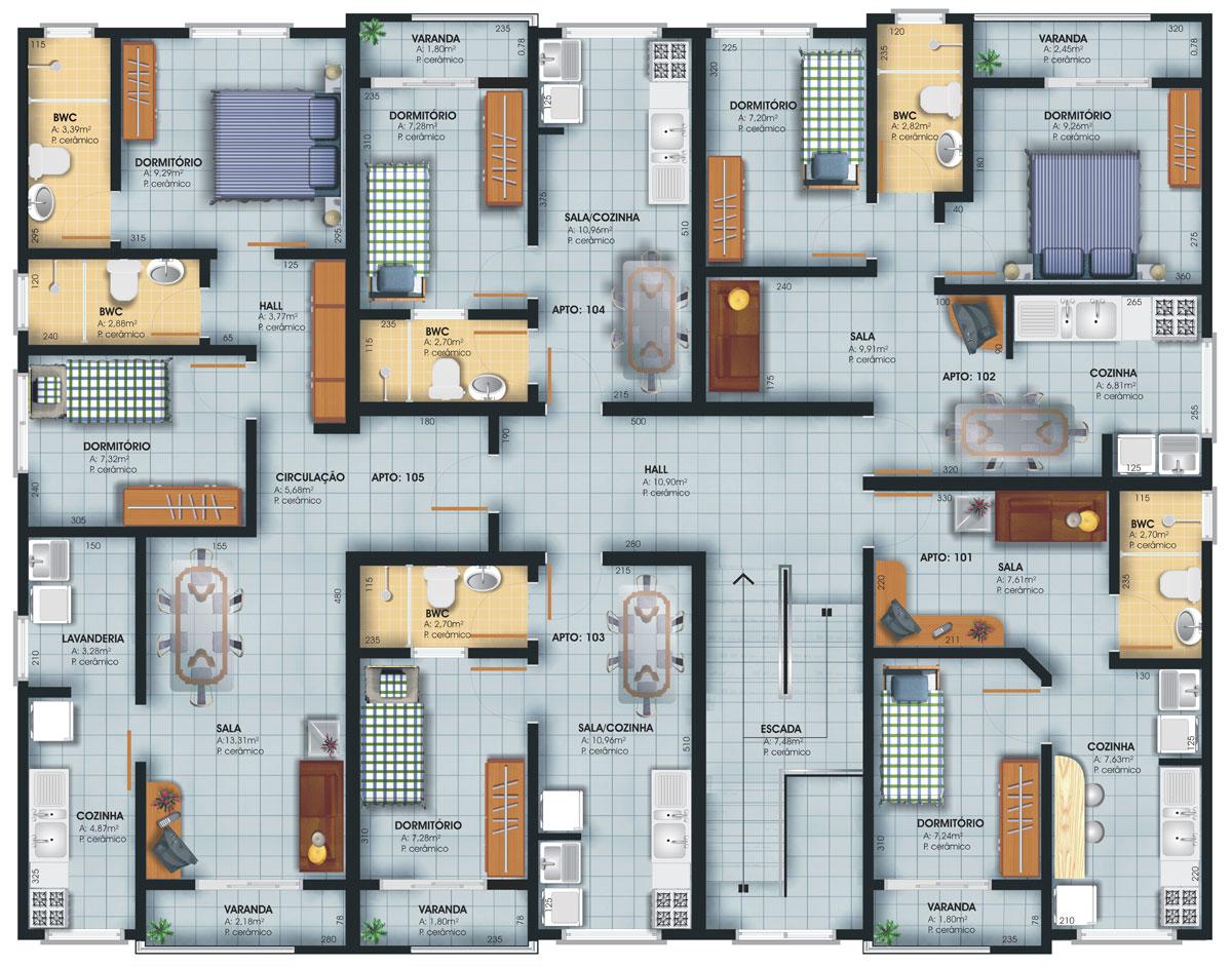 Top 3 quartos planta baixa wallpapers for Jardins mangueiral planta 3 quartos