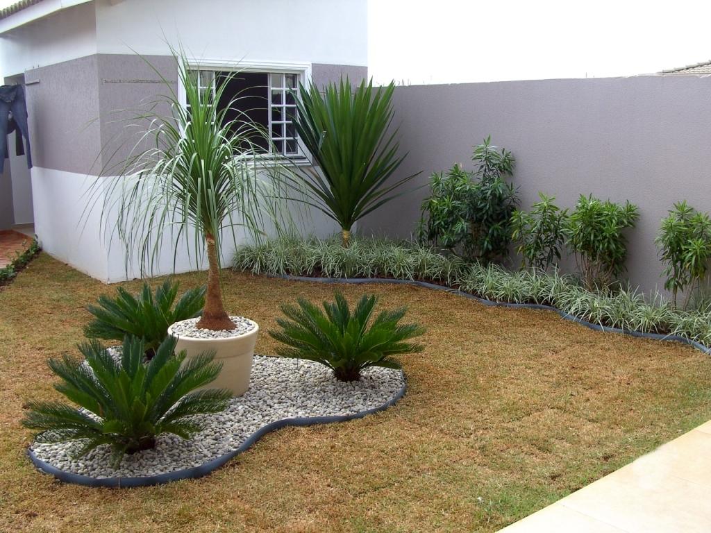 pedras jardins pequenos:Jardins Residenciais Pequenos – Dicas, Fotos e Modelos