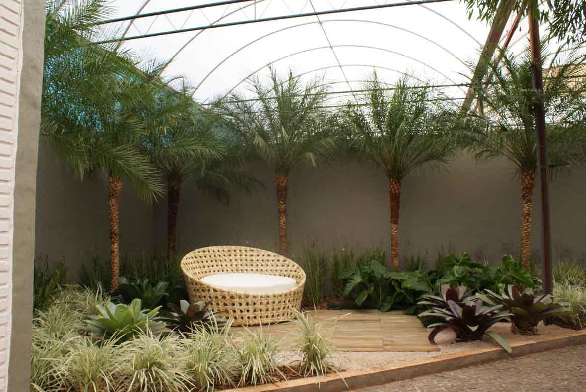 fotos jardins pequenos residenciais:Modelos De Jardins Pequenos
