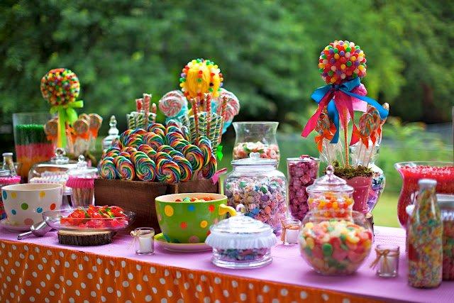 decoracao de casamento que eu posso fazer:Mesa de Doces Para Festa Infantil – Sugestões de Decoração e