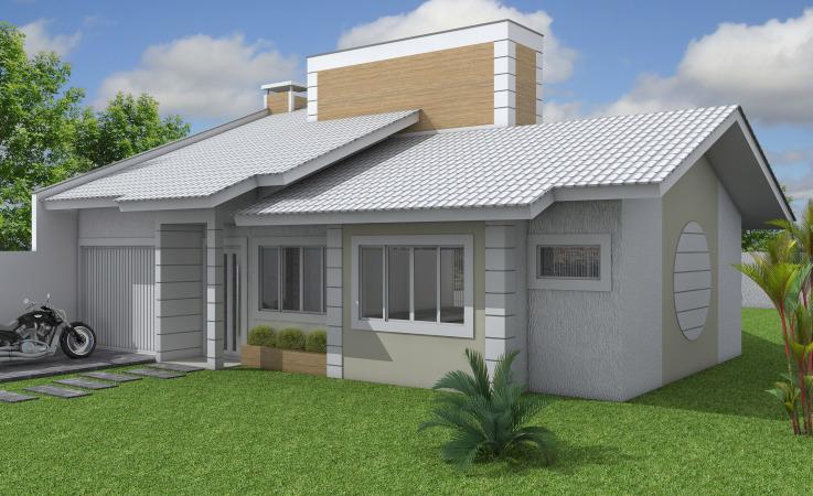 Telhados de casas pequenas galeria de fotos e modelos for Modelos de techos para galerias