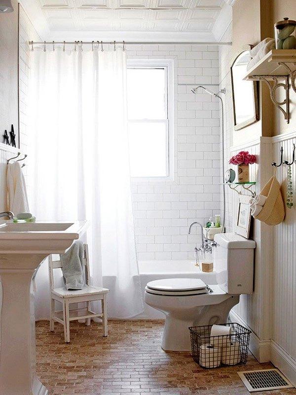 Decoração de Banheiros Pequenos  Sugestões e Fotos -> Sugestoes Banheiro Pequeno