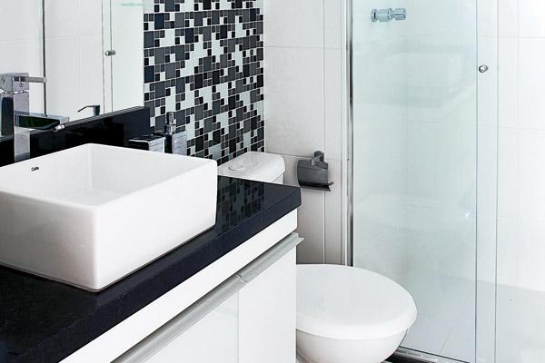 decoracao de interiores banheiros pequenos : decoracao de interiores banheiros pequenos: de Banheiros Pequenos – Sugestões e Fotos de Lindos Banheiros