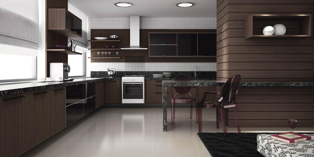 Encontre aqui fotos dicas e modelos de cozinhas planejadas for Modelos de armarios modernos