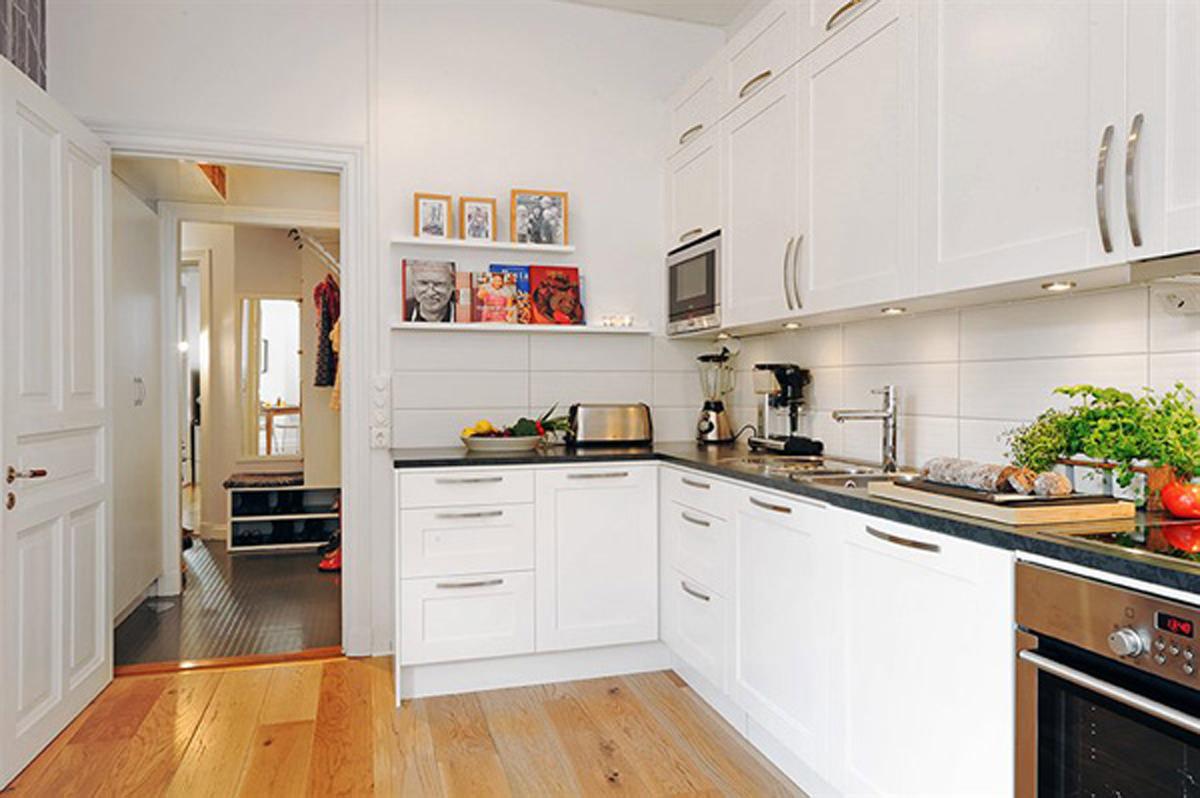 decora o de cozinhas pequenas decore com harmonia. Black Bedroom Furniture Sets. Home Design Ideas