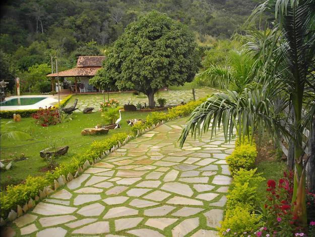 pedras para montar um jardim ? Doitri.com