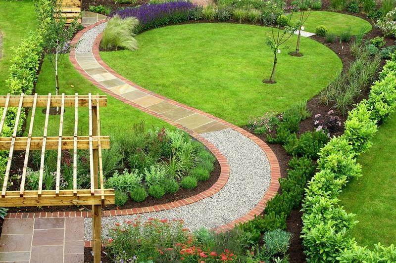 Garden Art Landscape Design : Fotos de lindos modelos jardins decorados com uso pedras