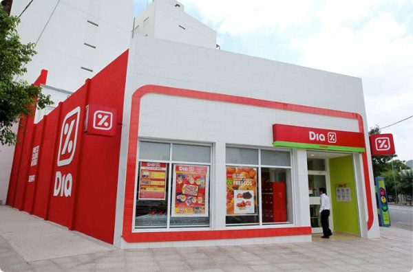 Franquia Supermercado Dia %