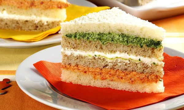 Sanduíche Colorido