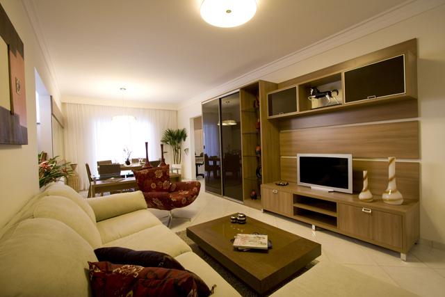Decora o de sala de estar fotos e excelentes dicas for Comedor y sala de estar decorados