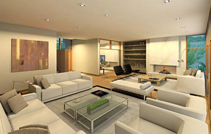 Decora o de sala de estar fotos e excelentes dicas for Ambientes minimalistas decoracion