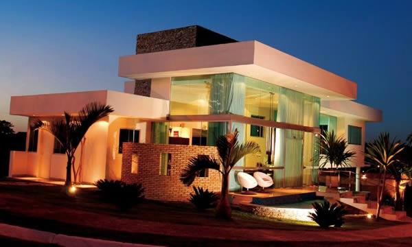 Casa Moderna Sem Muro