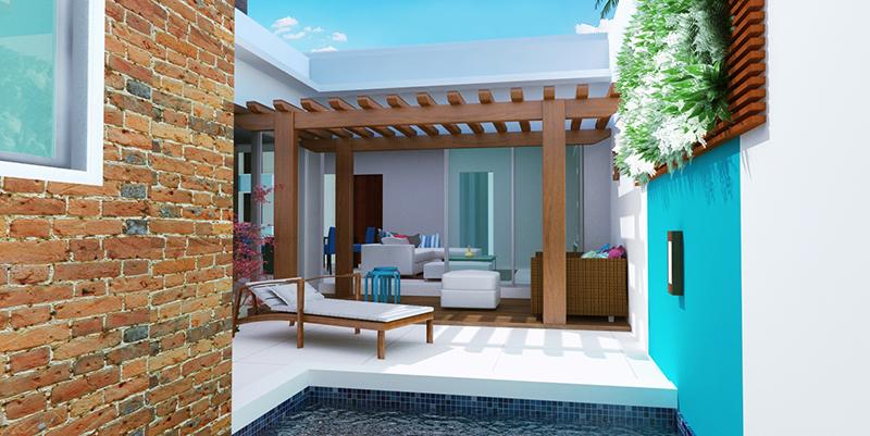 Plantas de casas pequenas para 2 ou 3 quartos veja dicas for Plantas para piscinas