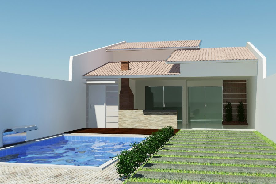 Telhados de casas pequenas galeria de fotos e modelos for Tipos de cielorrasos para casas