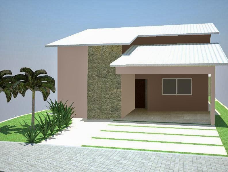 30 modelos incríveis de fachadas de casas pequenas e modernas
