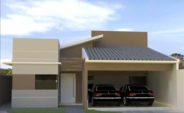 Telhados de casas pequenas galeria de fotos e modelos for Aberturas para casas modernas