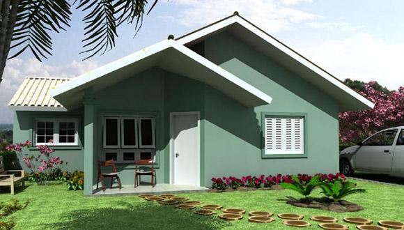 Telhados de casas pequenas galeria de fotos e modelos for Modelos de casas minimalistas pequenas