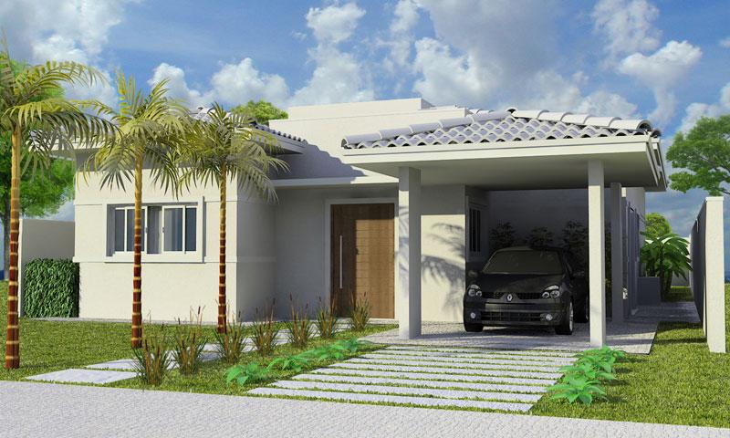 Telhados de casas pequenas galeria de fotos e modelos for Modelos de casas medianas