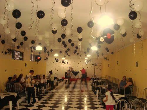 Decoração para Festas dos Anos 60