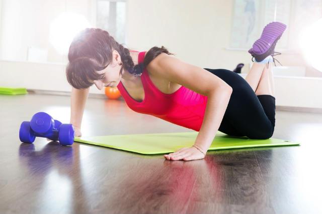 Exercício Flexão de Braço