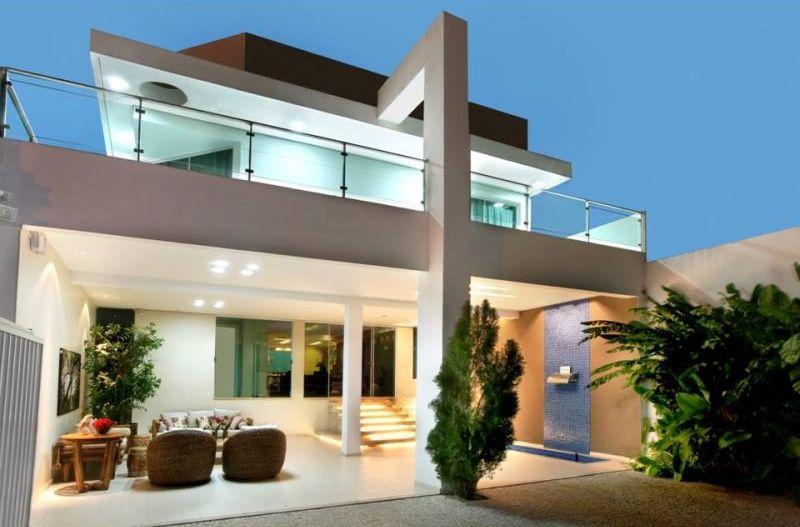 Fachadas de casas com garagem dicas fotos e projetos for Modelos de fachadas de casas