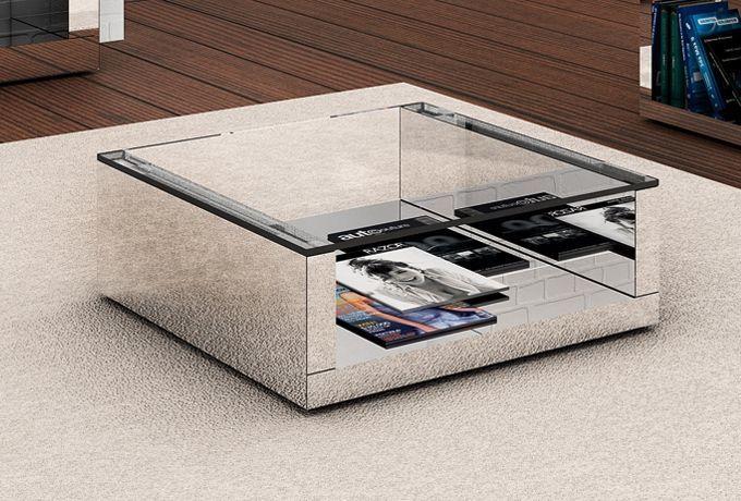 Mesa de centro para sala de estar modelos e dicas - Modelos de mesa de centro ...