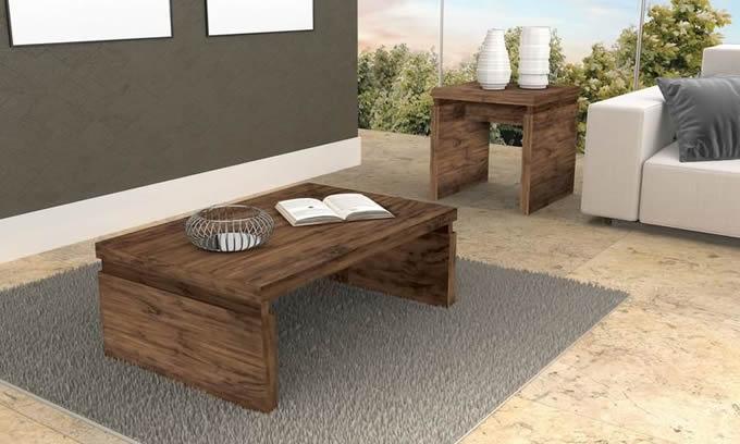 Mesa de centro para sala de estar modelos e dicas - Mesas de centro de sala ...