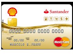 Cartão Shell Santander Nacional