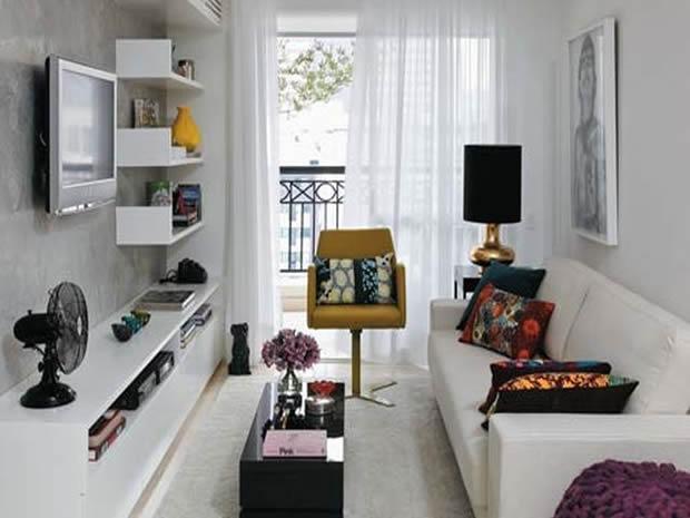 Apartamento Pequeno com Móveis Corretos