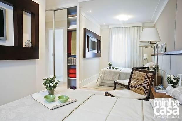 Apartamento Pequeno com Tons Claros