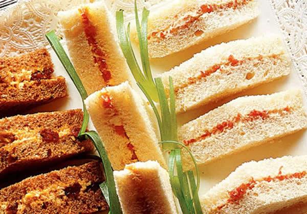 Sanduíche de Pasta de Presunto